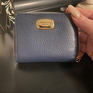 Michael kors mini wallet - navy